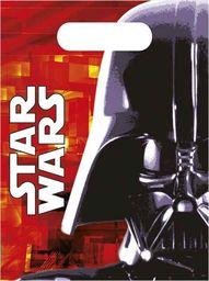 PROCOS Prezentowe torebki urodzinowe Star Wars - Lord Vader - 6 szt. uniwersalny