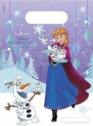 PROCOS Prezentowe torebki urodzinowe Frozen - Kraina Lodu - 6 szt. uniwersalny