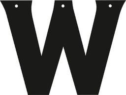 PartyShow Baner Personalizowany łączony - litera W uniwersalny