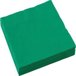 AMSCAN Serwetki zielone - 25 cm - 20 szt. uniwersalny