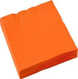 AMSCAN Serwetki pomarańczowe - 25 cm - 20 szt. uniwersalny