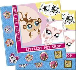 PROCOS Serwetki urodzinowe Littlest Pet Shop - 33 cm - 16 szt. uniwersalny