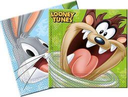 PROCOS Serwetki urodzinowe Looney Tunes - 33 cm - 20 szt. uniwersalny
