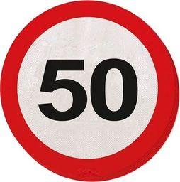 Folat Serwetki Znak zakazu 50tka - 33 cm - 20 szt. uniwersalny