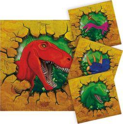 Folat Serwetki urodzinowe dinozaury - 25 cm - 16 szt. uniwersalny