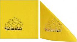 Gaj Serwetki wielkanocne Pisanki żółte - 33 cm - 20 szt. uniwersalny