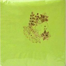 Gaj Serwetki wielkanocne Kurczaczek jasnozielone - 33 cm - 20 szt. uniwersalny