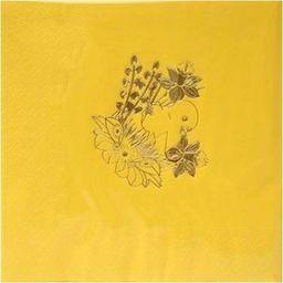 Gaj Serwetki wielkanocne Kurczaczek żółte - 33 cm - 20 szt. uniwersalny
