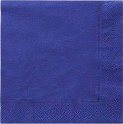 TAM Serwetki 3-warstwowe 33 cm, niebieskie - 20 szt.  uniwersalny