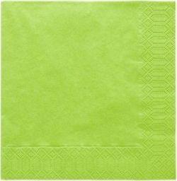 TAM Serwetki 3-warstwowe 33 cm, j.zielone - 20 szt.  uniwersalny