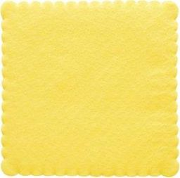 TAM Serwetki 1-warstwowe żółte - 15 cm - 200 szt.  uniwersalny