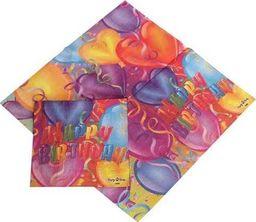 """TAM Serwetki papierowe do zestawu """"Baloniki"""" - 33 x 33 cm - 20 szt. uniwersalny"""