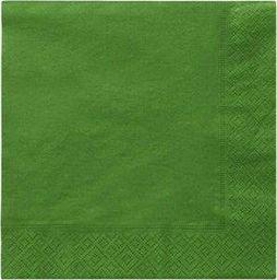 TAM Serwetki 3-warstwowe 33 cm, zielone - 20 szt.  uniwersalny