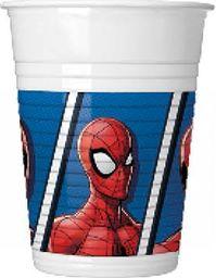 PROCOS Kubeczki urodzinowe Spiderman Team Up - 200 ml - 8 szt. uniwersalny