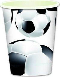 TAM Kubeczki papierowe Piłka Nożna - 260 ml - 6 szt. uniwersalny