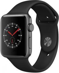 Smartwatch Apple Watch Series 3 38mm Czarny  (mtf02cn/a)