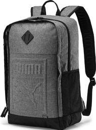 Puma Plecak sportowy S Backpack szary uniwersalny (075581 09)