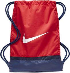 Nike Worek na buty Nike Brasilia czerwony BA5338 658 uniwersalny