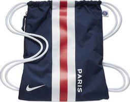Nike Worek na buty Nike Stadium PSG GMSK granatowo biało czerwony BA5942 410 uniwersalny