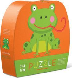 Crocodile Creek Puzzle 12 elementów Głodna żaba