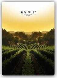 Plakat metalowy Feeby Wydruk na metalu, Napa Valley 20x30