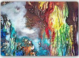 Plakat metalowy Feeby Wydruk na metalu, abstrakcja w kolorz 30x20