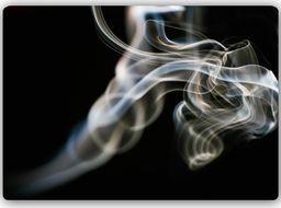 Plakat metalowy Feeby Wydruk na metalu, abstrakcja z dym 30x20