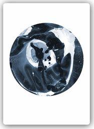 Plakat metalowy Feeby Wydruk na metalu, abstrakcyjne koło 20x30