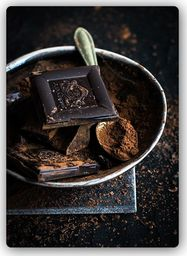 Plakat metalowy Feeby cynamon i czekolada 20cmx30cm