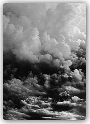 Plakat metalowy Feeby czarne chmur 20cmx30cm