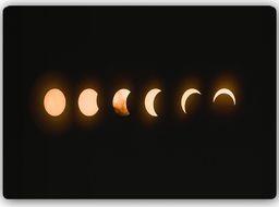 Plakat metalowy Feeby fazy zaćmienia księżyc 30cmx20cm