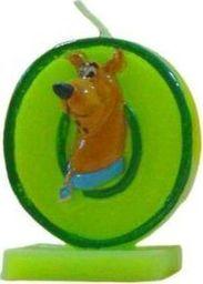 """Arpex Świeczka cyferka """"0"""" Scooby Doo - 1 szt. uniwersalny"""