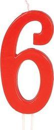 GU Świeczka cyferka 6 - 1 szt. uniwersalny