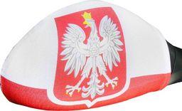 GoDan Flagi Polski z godłem na lusterko - 2 szt. uniwersalny