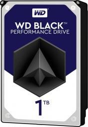 Dysk Western Digital Black, 3.5'', 1TB, SATA/600, 7200RPM, 64MB cache (WD1003FZEX)