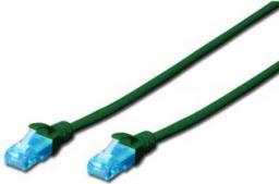 Digitus Patch cord U/UTP kat.5e PVC 1m zielony (DK-1512-010/G)