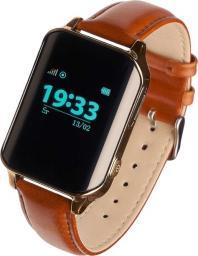 Smartwatch Garett Electronics GPS Classic Złoty Brązowy  (AKGAGSBS04Z0)