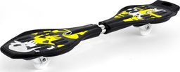 Deskorolka SMJ sport Deskorolka waveboard SMJ sport RS-03-4 żółty uniwersalny