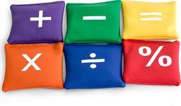 Vinex Woreczki gimnastyczne FB811-6C 6szt. Działania matematyczne uniwersalny