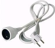 Kabel zasilający PremiumCord Przedłużacz M/F, 230V, 2m (ppe1-02)