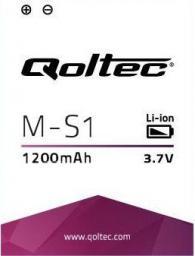 Bateria Qoltec do smartfona BlackBerry M-S1 BOLD: 9000; 9700; 9780 - 1200mAh (7865.B-B)