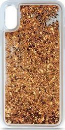 Nakładka Liquid Glitter do Samsung Galaxy S9 złoty