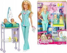 Mattel Barbie zestaw kariera lekarz pediatra (DVG10)
