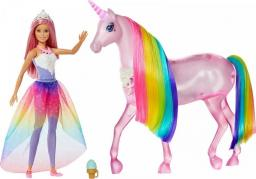 Mattel Jednorożec Magia świateł w zestawie z lalką (FXT26)