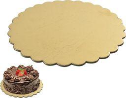 Orion Podstawka pod tort ciasto kartonowa ZŁOTA uniwersalny