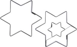 Orion Wykrawacz foremka do ciastek pierników GWIAZDA 2x uniwersalny