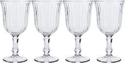 Excellent Housewares Kieliszek do wina wody szklany 240ml 4 szt uniwersalny