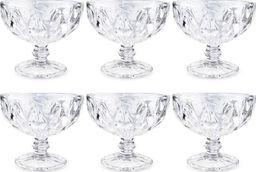 Pucharek do lodów deserów szklany 300ml 6 szt uniwersalny
