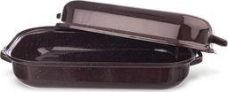 Belis Brytfanna emaliowana z pokrywą 42,5x22,5 cm uniwersalny