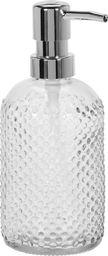 Dozownik do mydła Excellent Housewares Dozownik pojemnik do mydła w płynie płynu SZKLANY uniwersalny